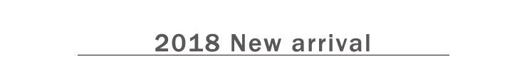 2018年新商品販売開始