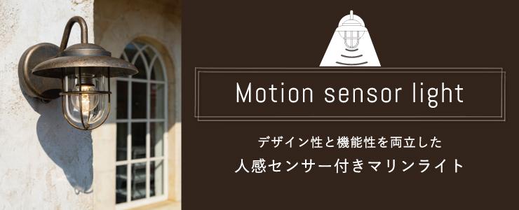 デザイン性と機能性を両立した人感センサー付きマリンライト
