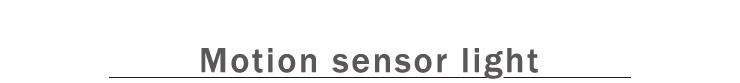 motion sensor light 人感センサー付きライト