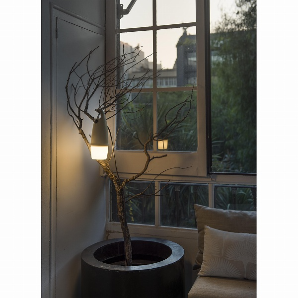 HOOK Brown portable lamp