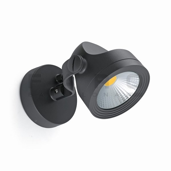 ALFA LED Dark grey projector lamp 4000K