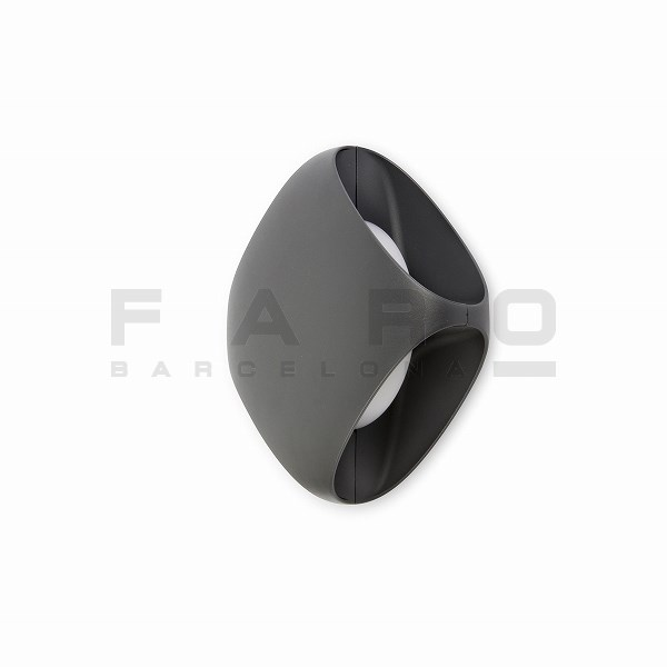 FA71212  BU-OH LED Dark grey wall lamp