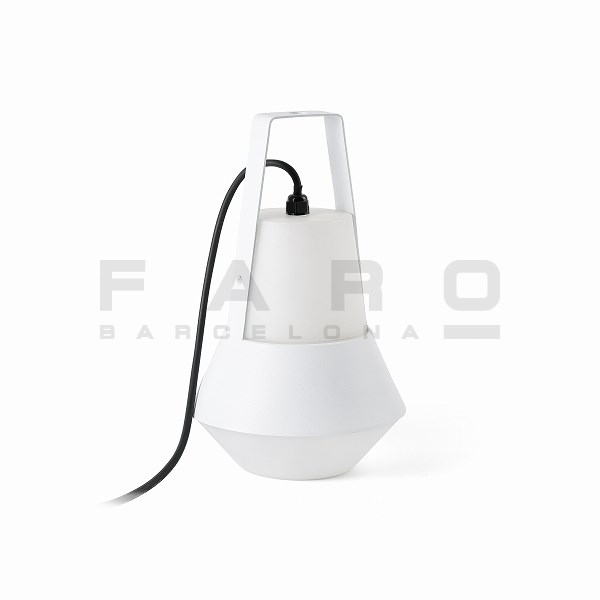 FA71563  CAT White portable lamp