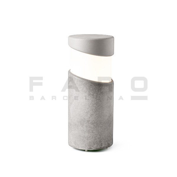 BLOCK Grey beacon lamp h35cm