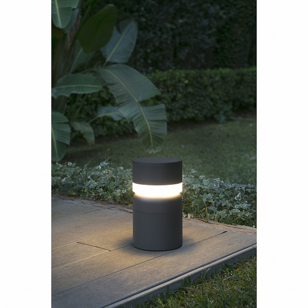 SETE LED Dark grey beacon lamp